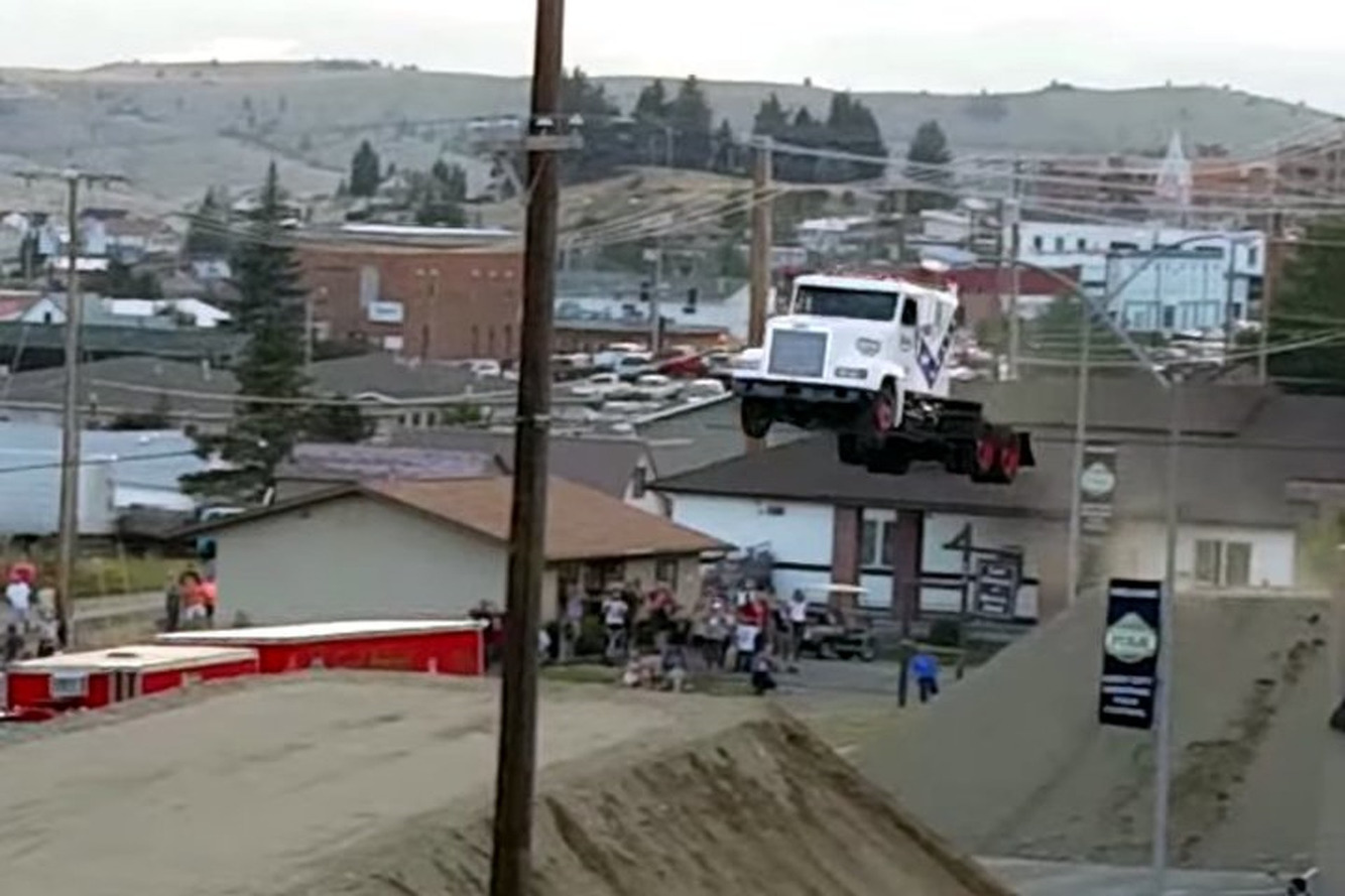 Watch Stuntman Set a World Record Semi-Truck Jump