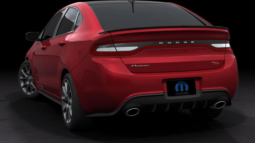Dodge Dart GTS 210 Tribute & Fiat 500 Stinger revealed