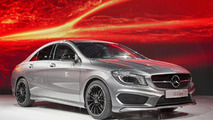 2014 Mercedes CLA live in Detroit 13.1.2013