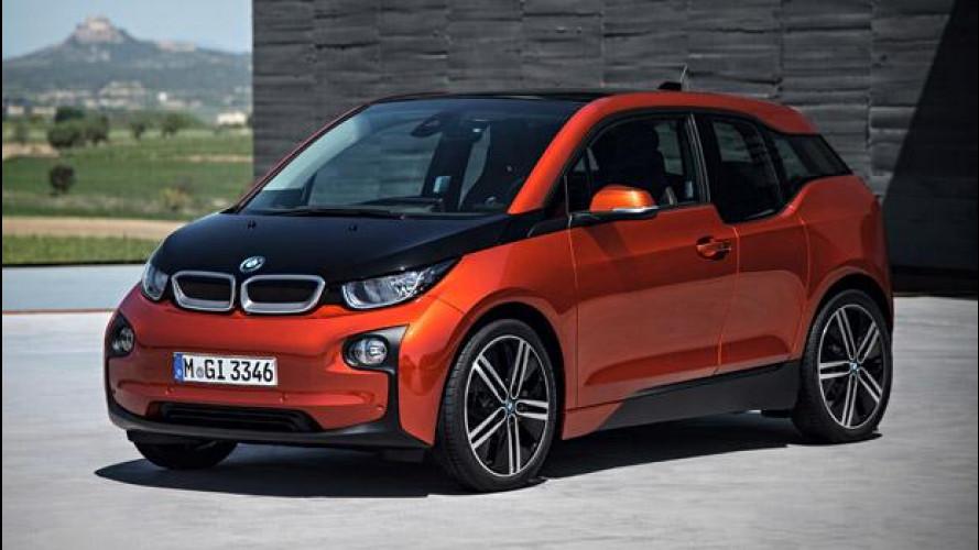 BMW i3, ecco la versione di serie