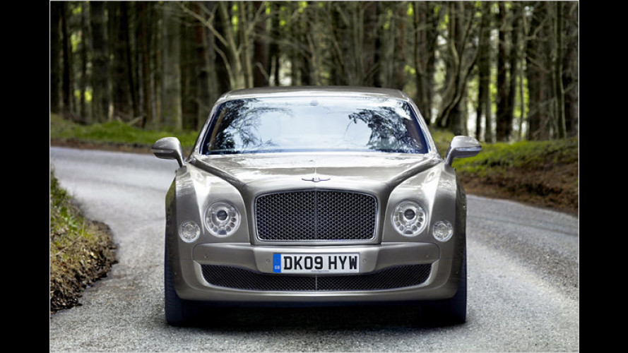 Bentley Mulsanne bekommt Twinturbo-V8 mit 512 PS