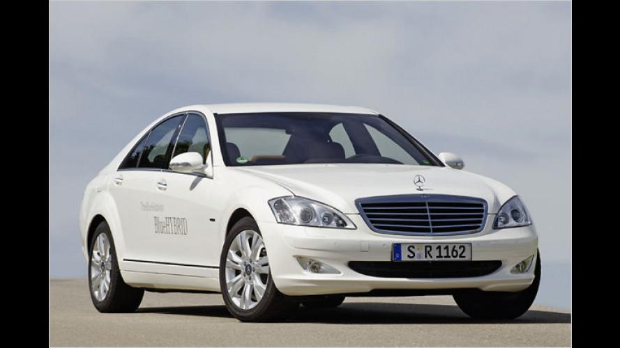 S 400 BlueHybrid: Mercedes-Hybridmodell kommt Mitte 2009