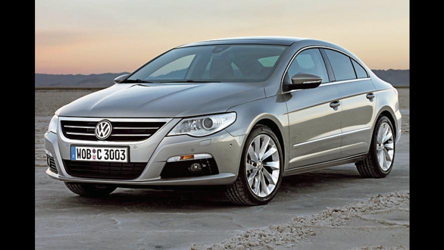 Volkswagen gibt die Preise für den Passat CC bekannt