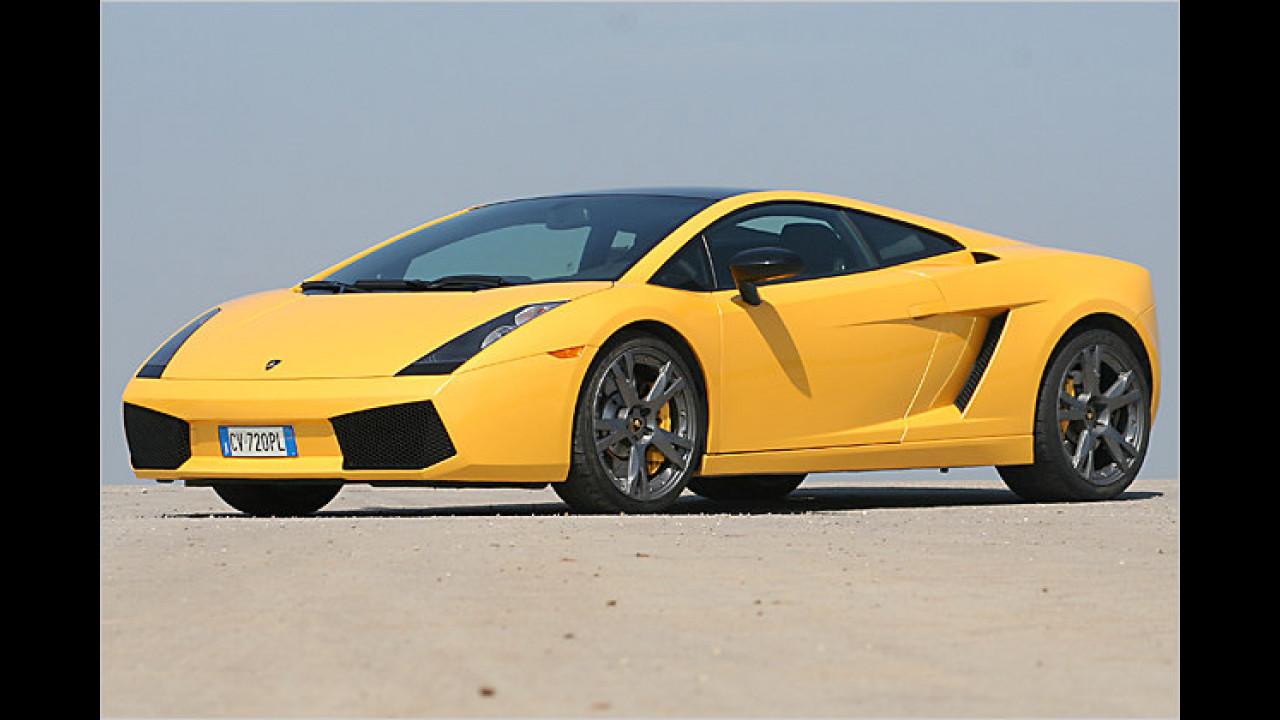 Platz 9: Lamborghini Gallardo 5.0 V10