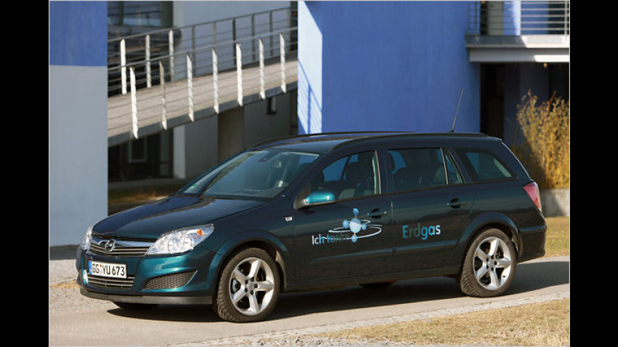 Erdgas- plus Elektroantrieb: Opel Astra Caravan als Hybrid