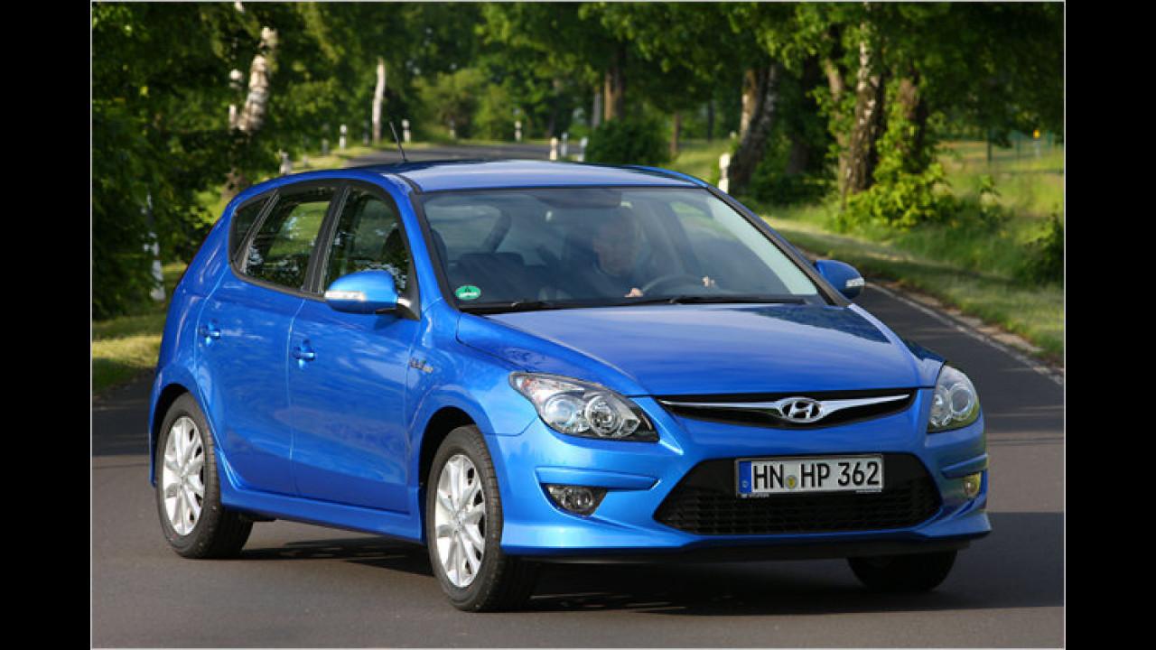 Hyundai: Die häufigste Farbe ist Silber