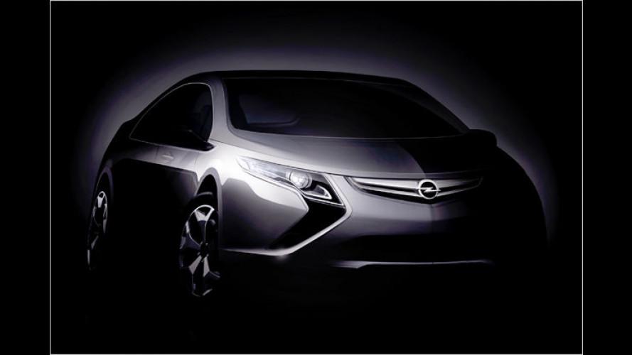 Opel Ampera: Der Chevrolet Volt kommt nach Europa
