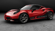 Alfa Romeo 4C 2014 WTCC safety car