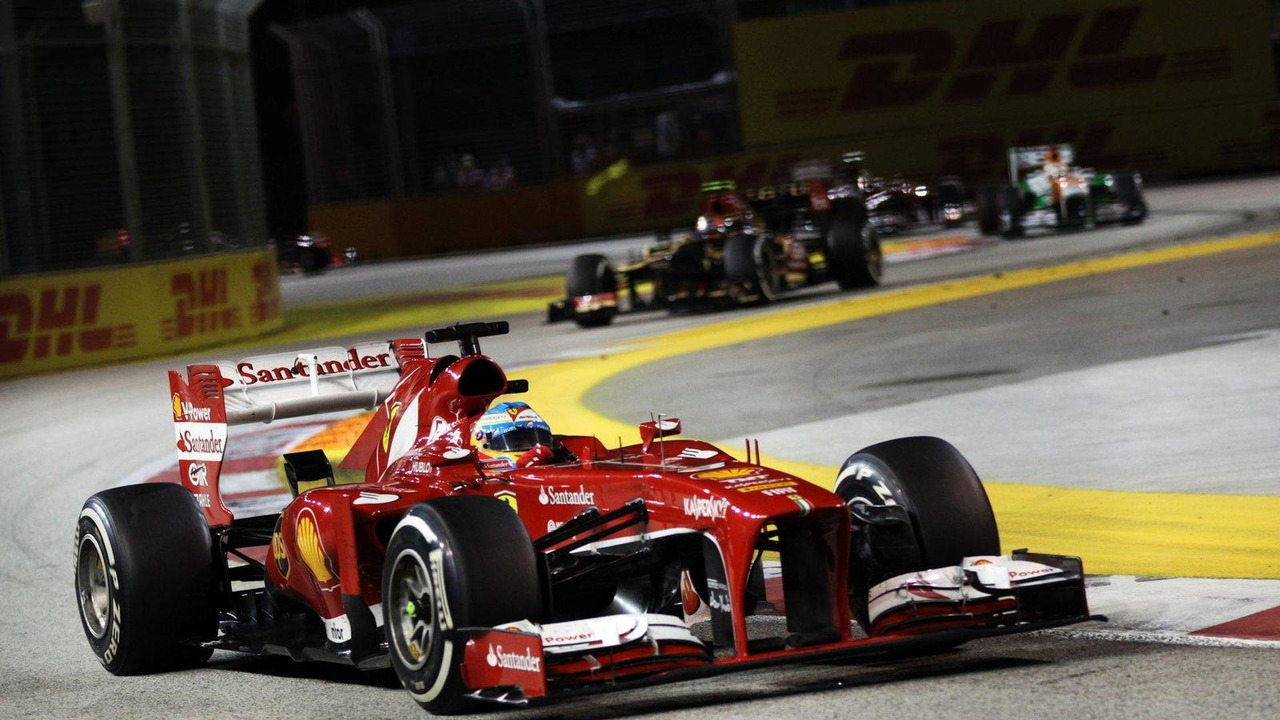 Fernando Alonso 22.09.2013 Singapore Grand Prix