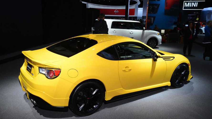 Scion launches FR-S Release Series 1.0 with TRD goodies