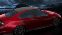 Infiniti Q50 Eau Rouge concept fully revealed online