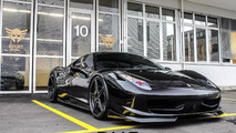 DMC blacks out the Ferrari 458 Italia