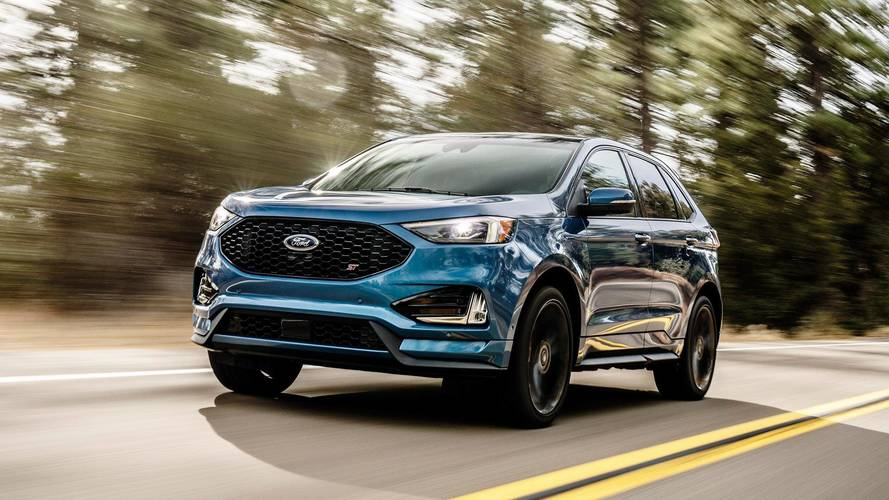 2019 Ford Edge ST Gets Even Edgier With Sport Mode, Rev Matching