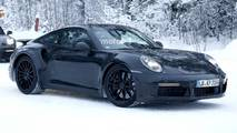 Porsche 911 Turbo Spy Photo