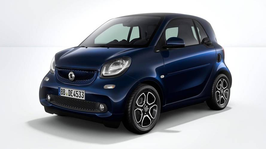 Smart Fortwo Electric Drive 10th Anniversary Edition