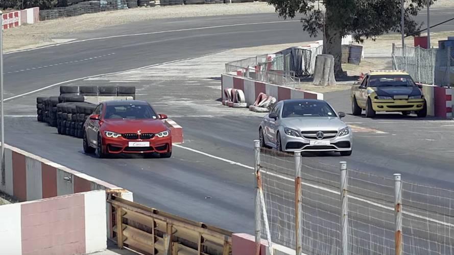 BMW M4 Competition Package vs. Mercedes-AMG C 63 S Coupé