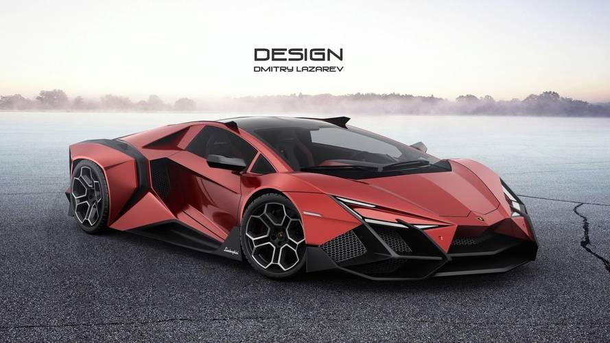 Lamborghini Forsennato Hypercar Concept