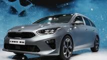 Kia Ceed Sportswagon at the 2018 Geneva Motor Show