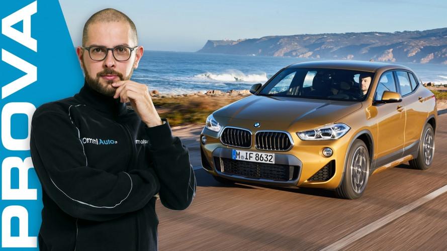 BMW X2, tutto maledettamente e SUV!