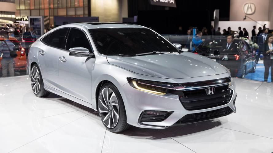 Honda Insight Prototype Closely Previews New Hybrid Sedan
