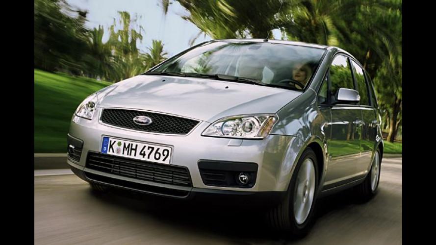 Ford Focus C-Max: Sondermodelle mit neuen Motoren