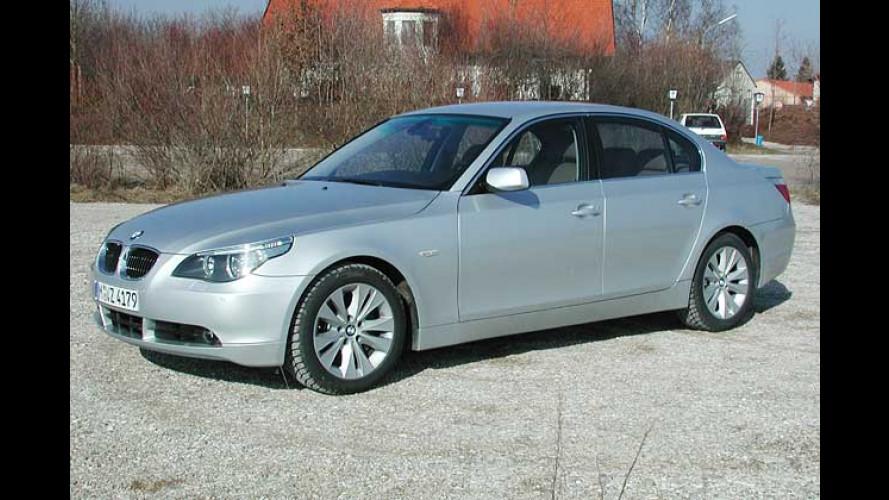 BMW 545i: Starker Paradehengst der Fünfer-Garde