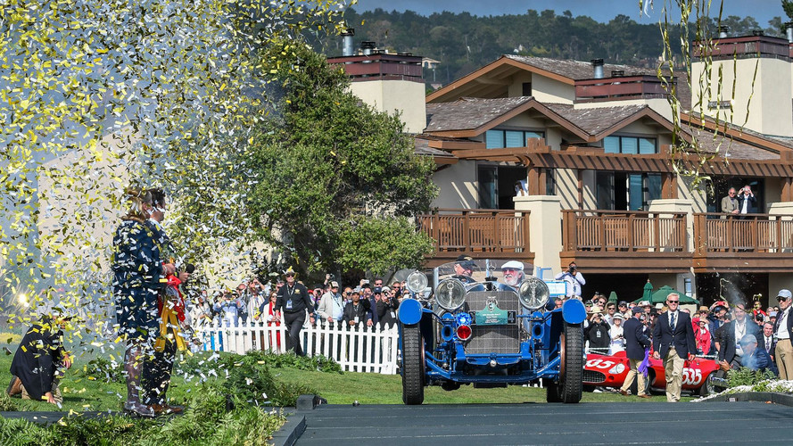 2017 Pebble Beach'in kazananı 1929 model bir Mercedes-Benz oldu