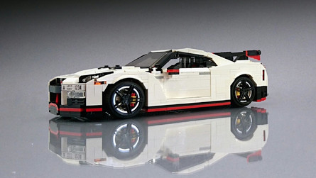 Lego Nissan GT-R Nismo Fulfills Our Childhood Speed Dreams