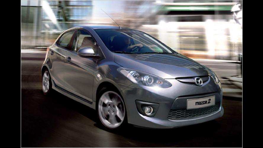 Mazda 2 mit neuer Ausstattungslinie ,Dynamic