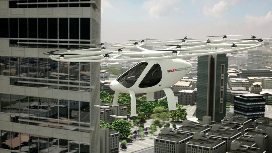 Daimler elektrikli uçan taksi Volocopter'a 30 milyon $ yatırdı