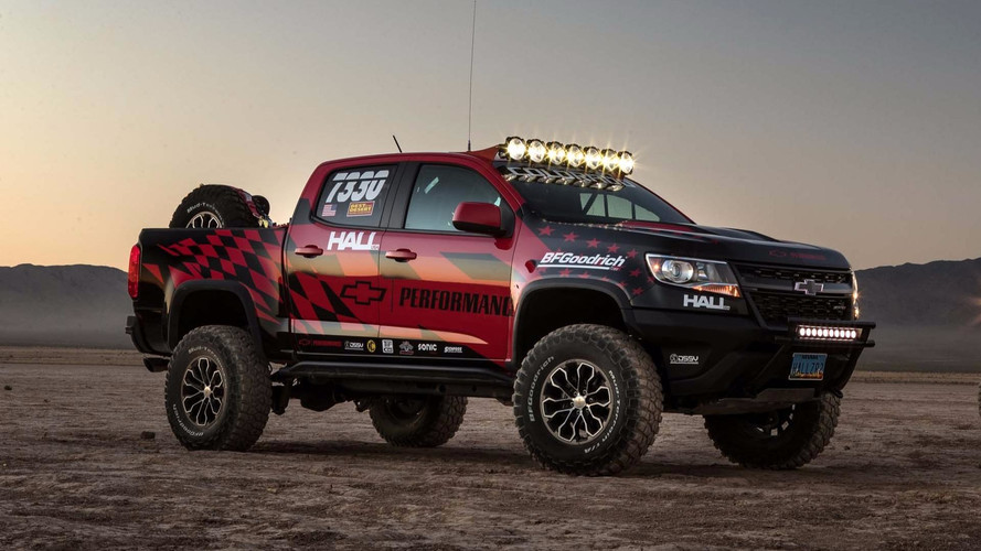 Chevy Colorado ZR2 Goes To Nevada For Off-Road Competition Debut