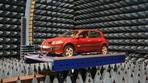 Renault EMC testing facility