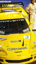 Corvette C6-R Race Car Launches For 2005