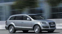 Test driving the Audi Q7