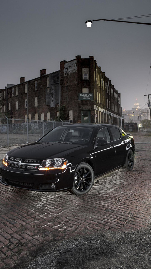 Dodge Avenger, Challenger & Charger Blacktop packages announced [video]