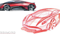 Arrinera supercar production sketches 17.7.2012