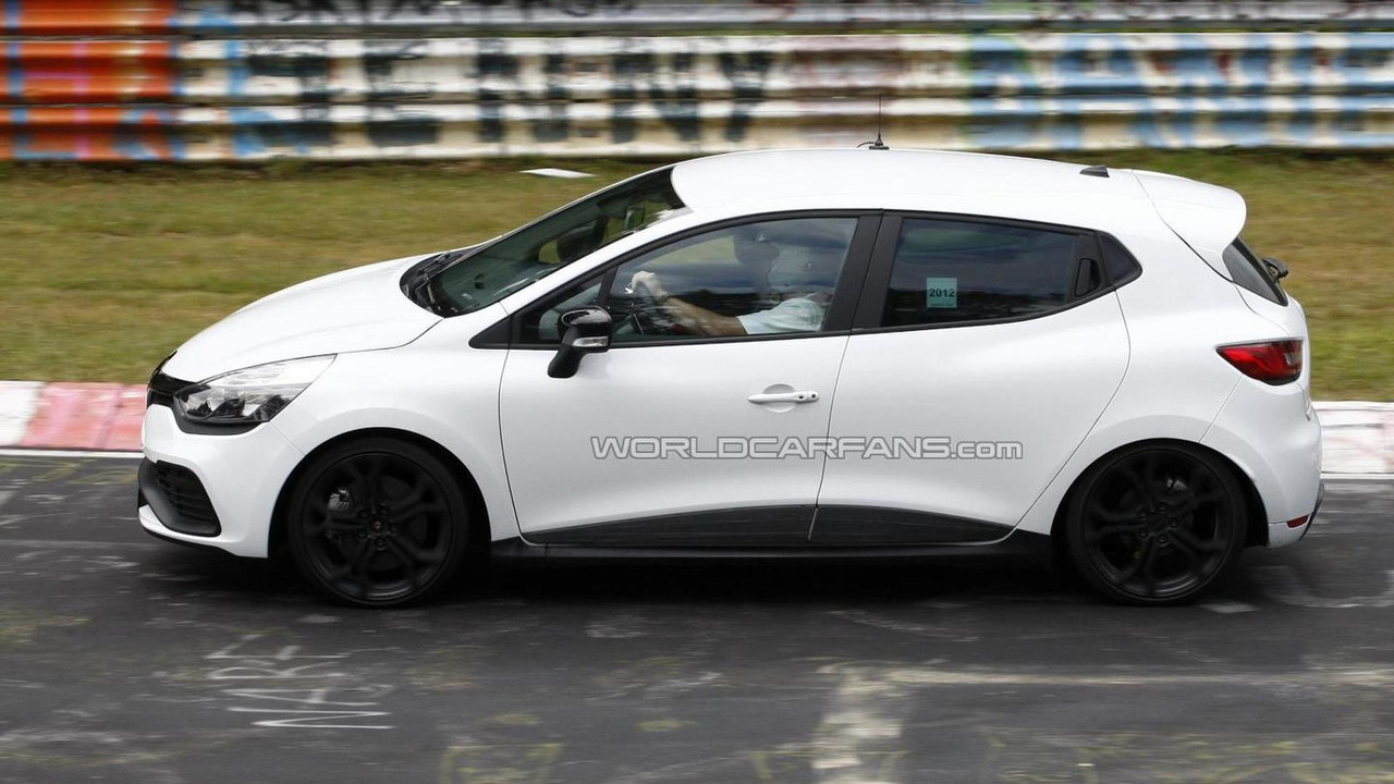 2013 Renault Clio RS spy photo 13.09.2012