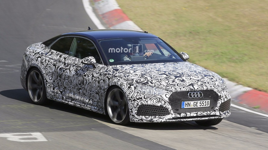 2018 Audi RS 5 Coupe brings Panamera 4S turbo power to the Nurburgring