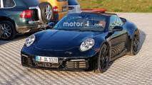 Porsche 911 Cabriolet photos espion