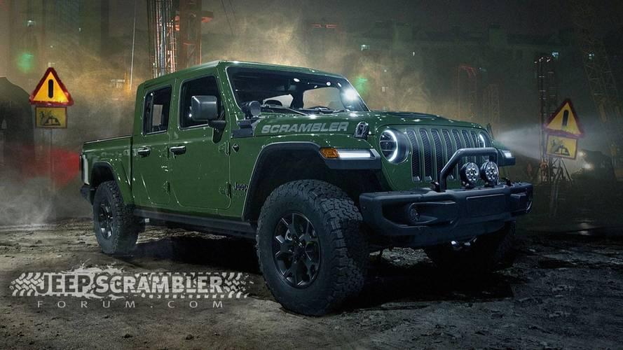 2019 Jeep Scrambler Render'ları