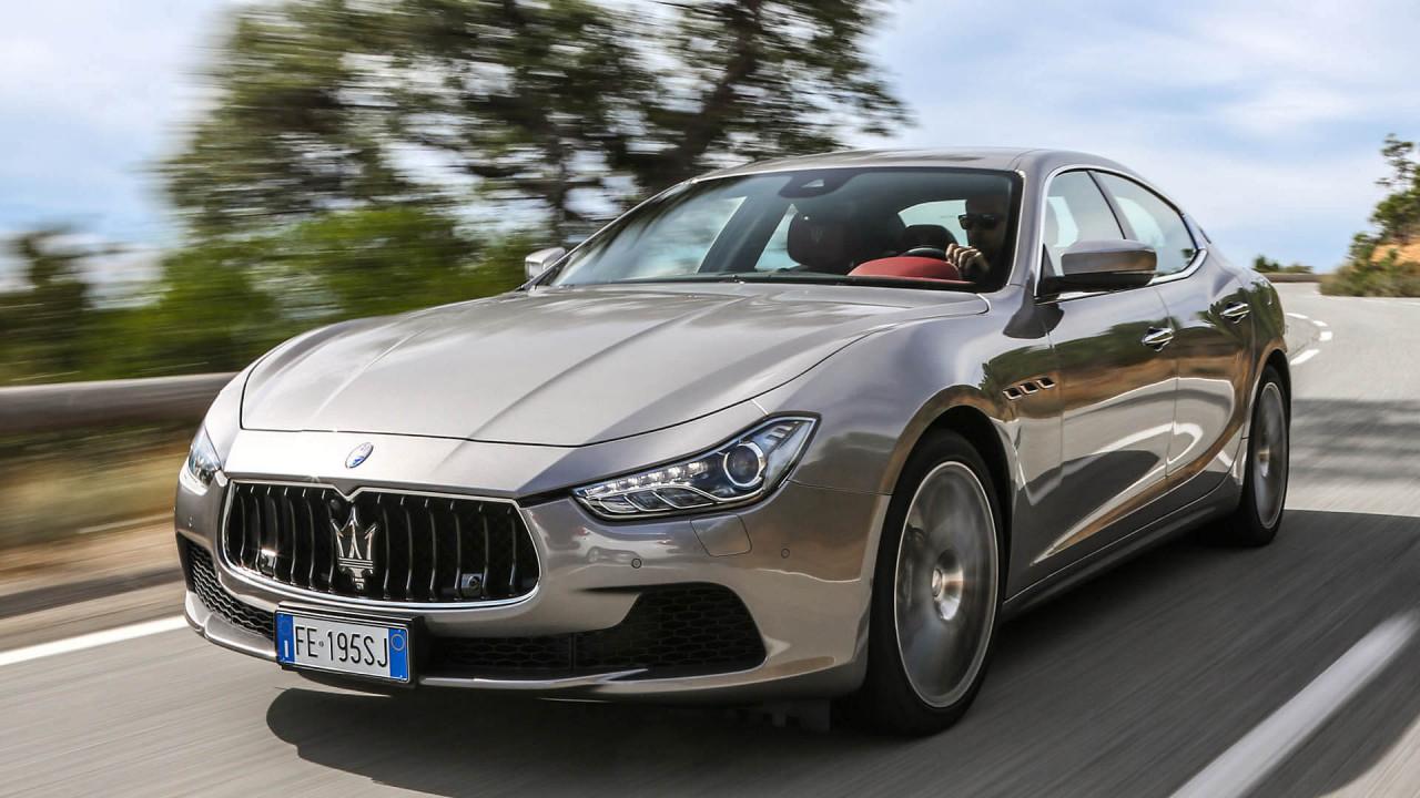 Maserati Ghibli: 4,97 Meter