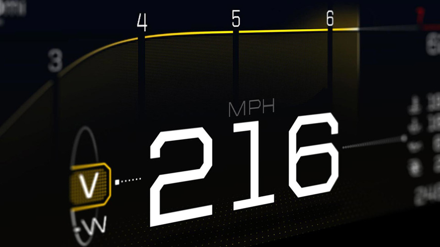 Ford GT'nin dijital gösterge paneline göz atın