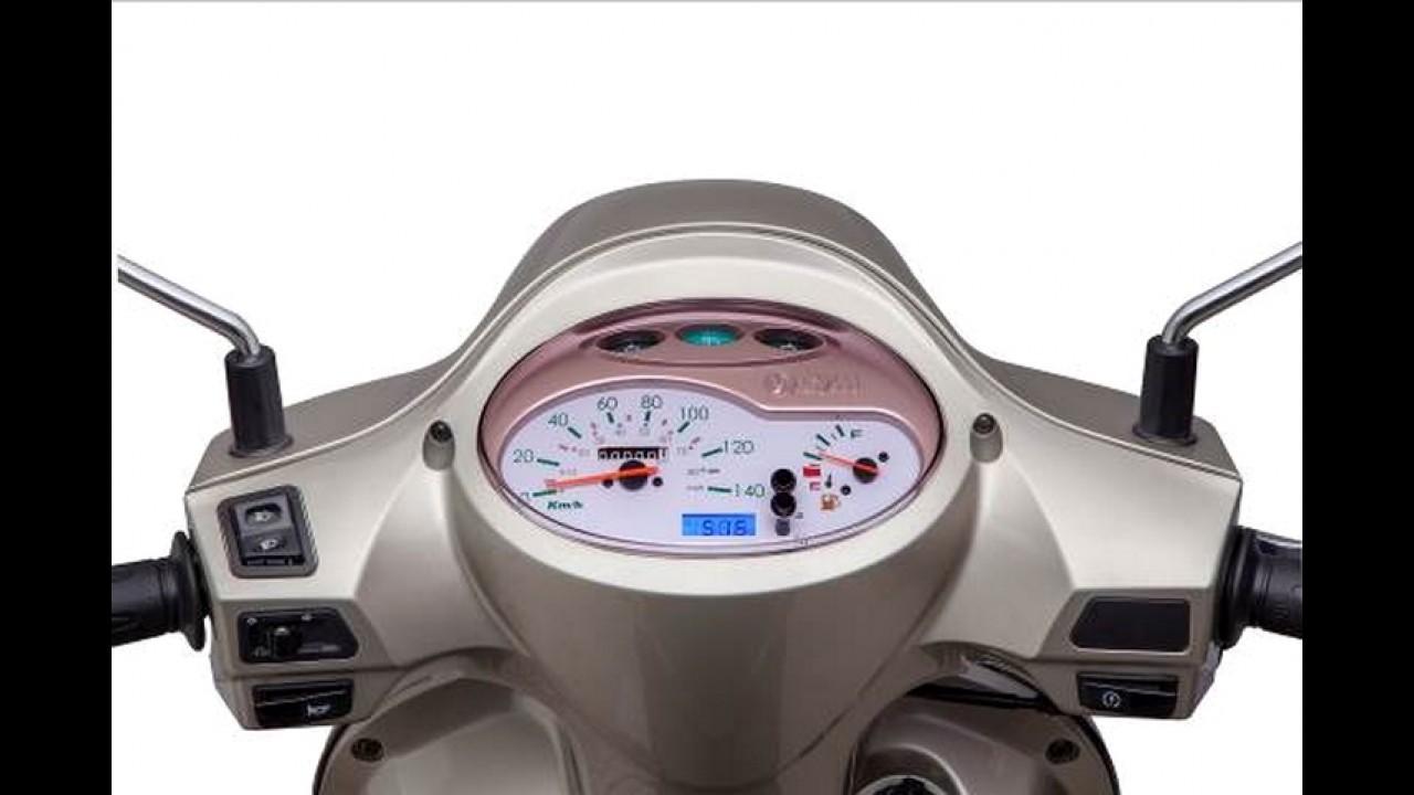 Dafra lança scooter com estilo retrô Fiddle III por R$ 11.390