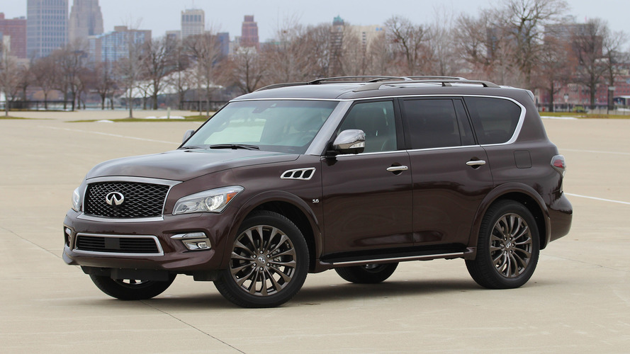 2017 Infiniti QX80 Review: Good, but not good enough