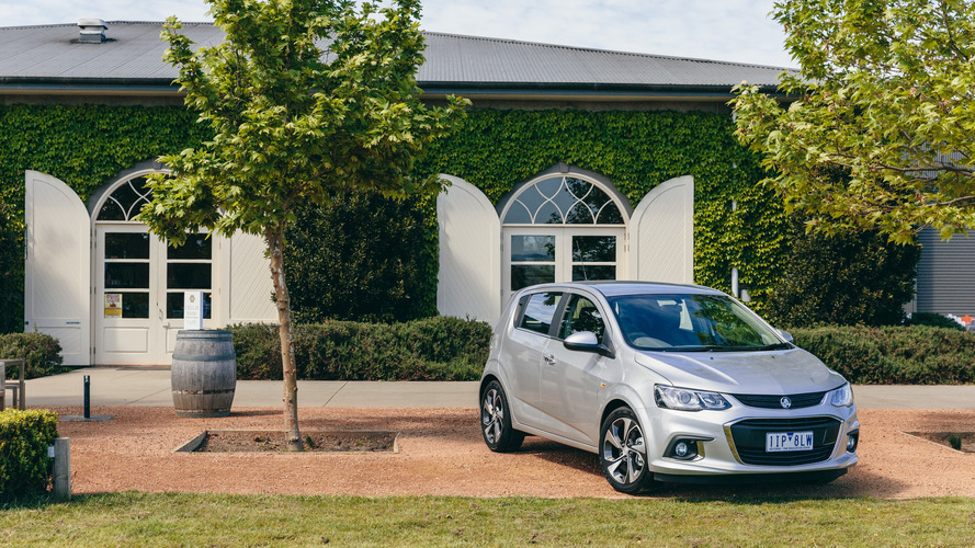 2017 Holden Barina is a Chevy Sonic in disguise