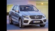 Mercedes-Benz GLE reestilizado deve chegar ao Brasil em 2016