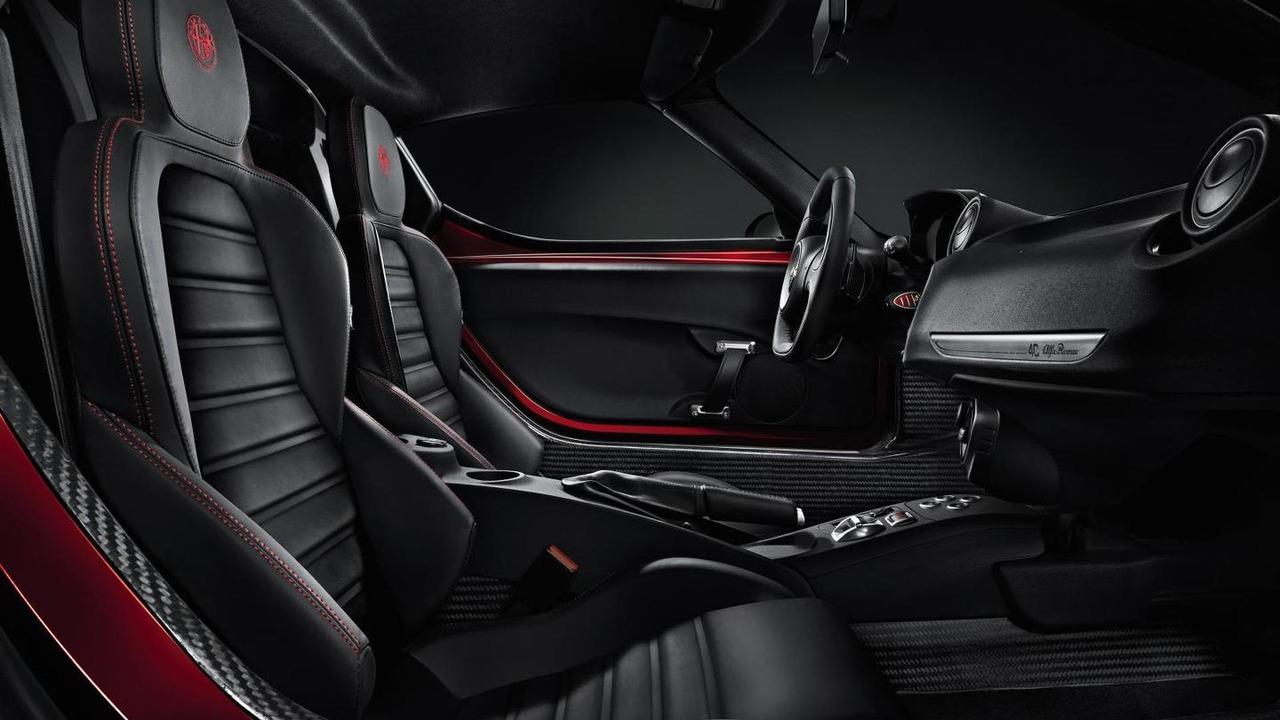 2013 Alfa Romeo 4C production version interior cabin
