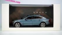 Volvo S90 Liquid Blue scale model