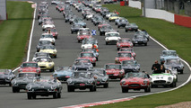 Jaguar E-Types at Silverstone Classic - 15.8.2011