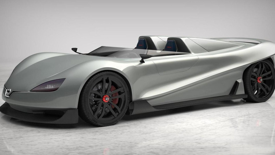 Nissan Kaze roadster envisioned by a former IED Turin student